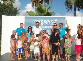 Palm Beach'te, Dünya Çocuk Günü kutlandı...