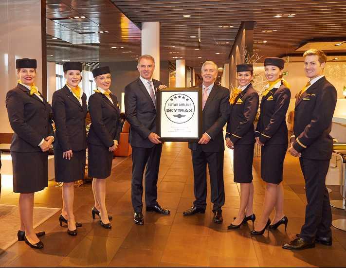 Lufthansa'ya Avrupa'nın ilk ve tek 'beş yıldızlı havayolu'ödülü