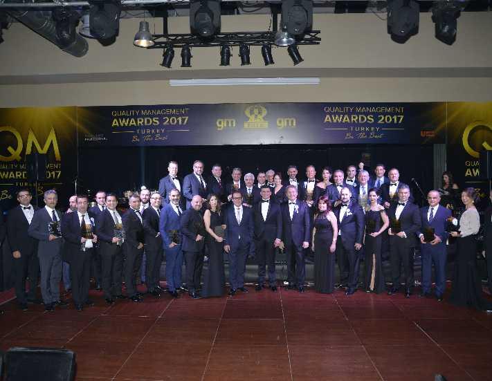 QM Awards 2017 Ödülleri sahiplerini buldu