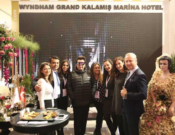 Wyndham Grand İstanbul Kalamış, Evlilik Fuarı'nda görücüye çıktı