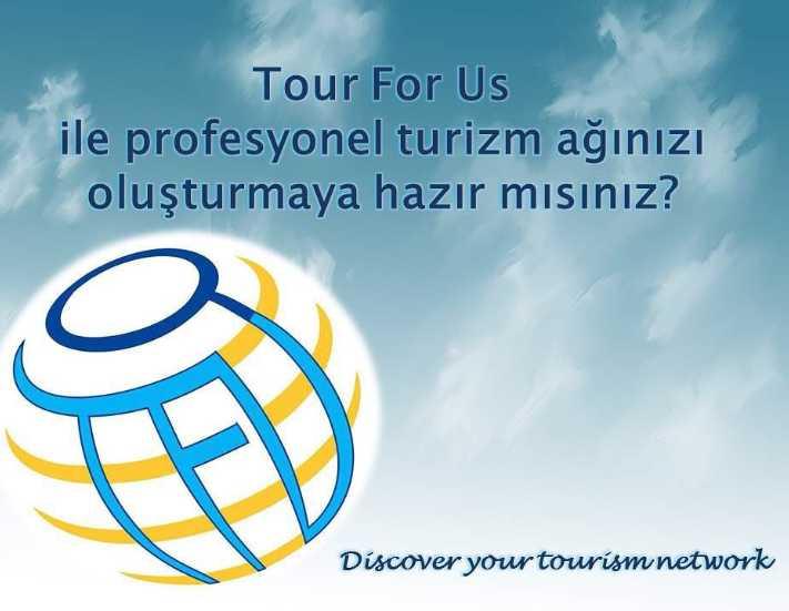 """""""TourForUs"""" turizmcilere hizmet vermeye başladı"""
