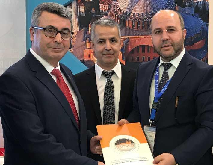 TUSAD Cidde Turizm Fuarı'nda Türkiye'yi tanıtıyor
