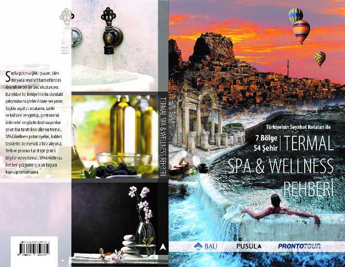 Türkiye'nin Termal, SPA&Wellness rehberi yayınlandı