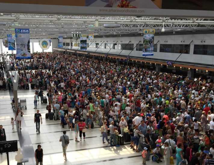 Turistik havalimanı istatistikleri sevindirdi