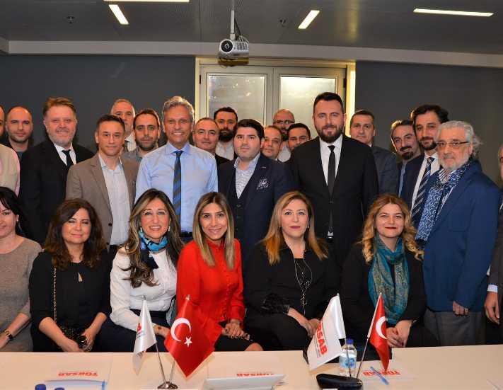 Uluslararası MICE Derneği'nden TÜRSAB'a ziyaret