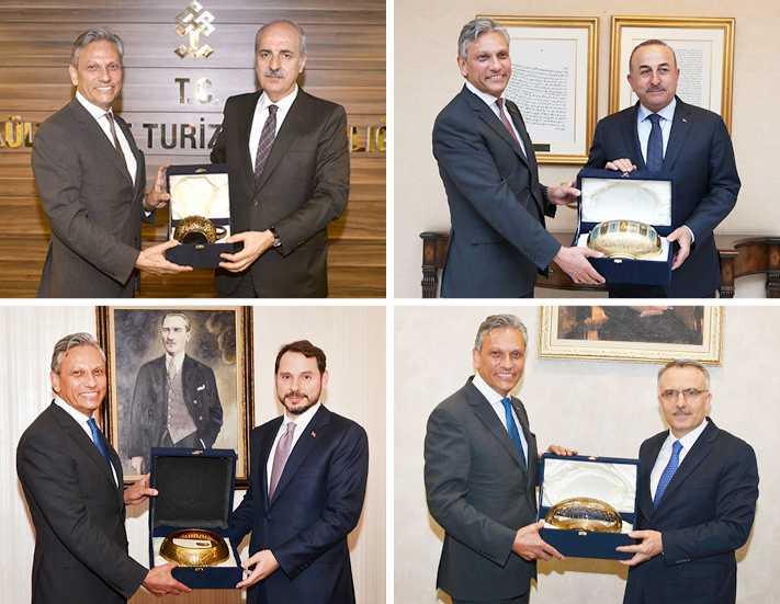 TÜRSAB'tan 4 Bakanlığa çıkarma