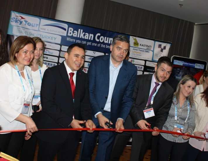 TravelShop Turkey sektörü Arnavutluk'ta buluşturdu