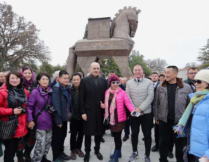 Çinli turistin tatil rotası Türkiye