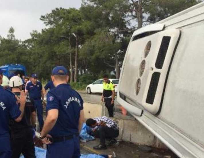 Otel servisi kazası: 2 kişi hayatını kaybetti