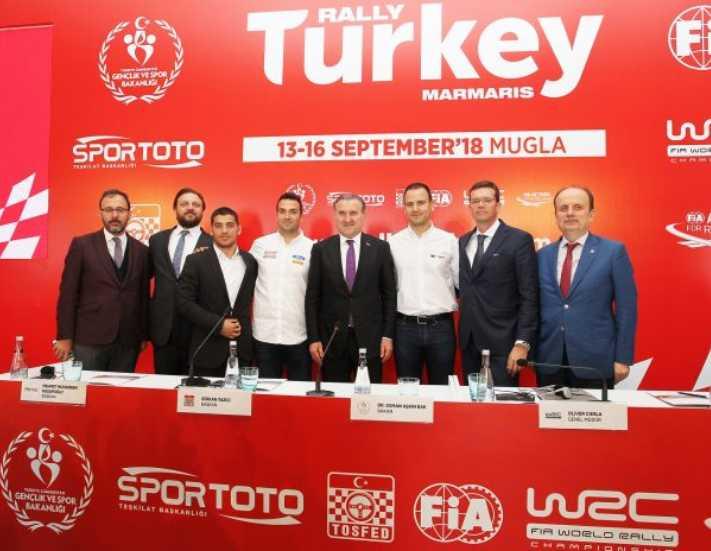 WRC Türkiye Rallisi 50 bin turist çekecek