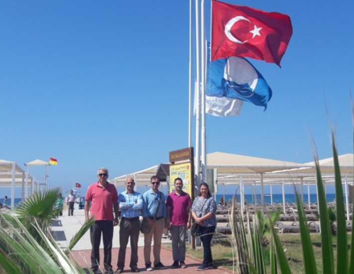 Kızılağaç Mavi Bayrak cenneti oldu