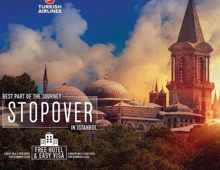 THY 14 Bin yolcuya İstanbul'u tanıttı