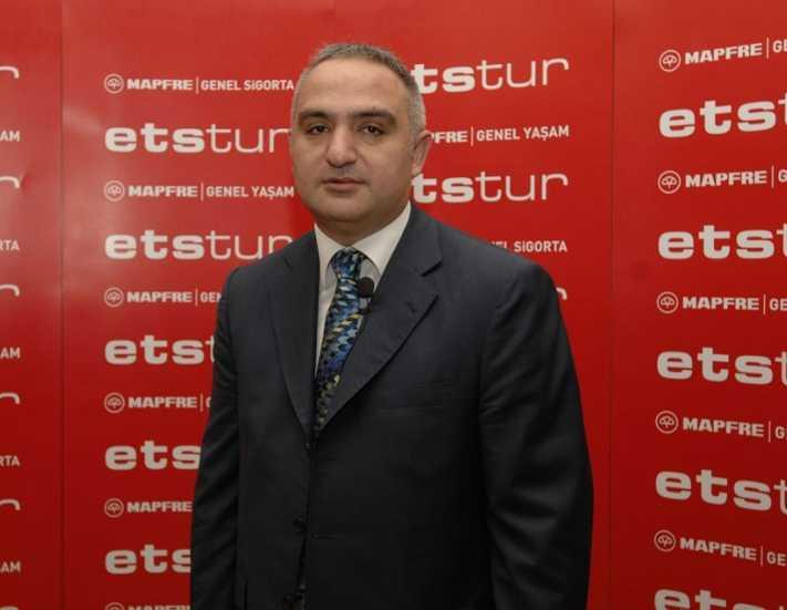 Mehmet  Ersoy Kültür ve Turizm Bakanı oldu