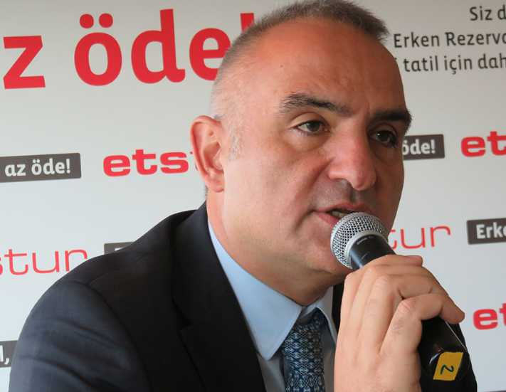 Turizm sektörü Mehmet Ersoy'un arkasında durmalı