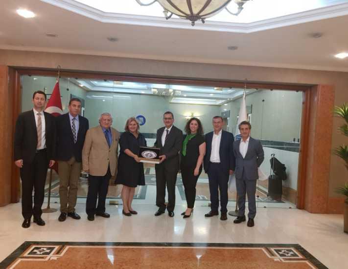 TTYD Yönetim Kurulu'ndan, SPK Başkanı Taşkesenlioğlu'na ziyaret