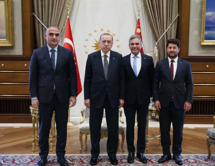 TÜRSAB Başkanı Bağlıkaya, Cumhurbaşkanı Erdoğan'la neler konuştu?