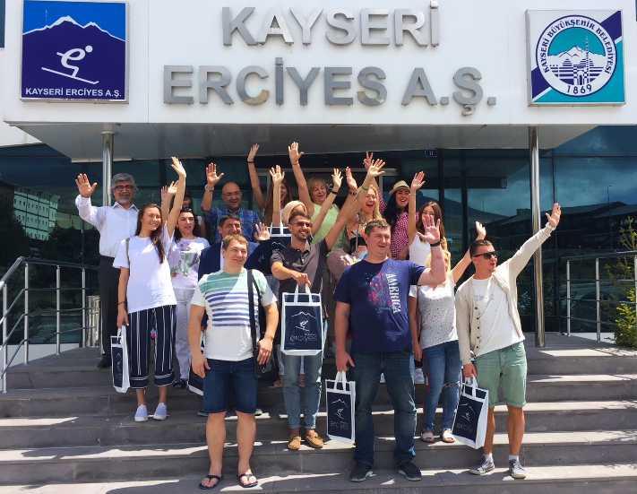 Erciyes Ukrayna'da tanıtılıyor
