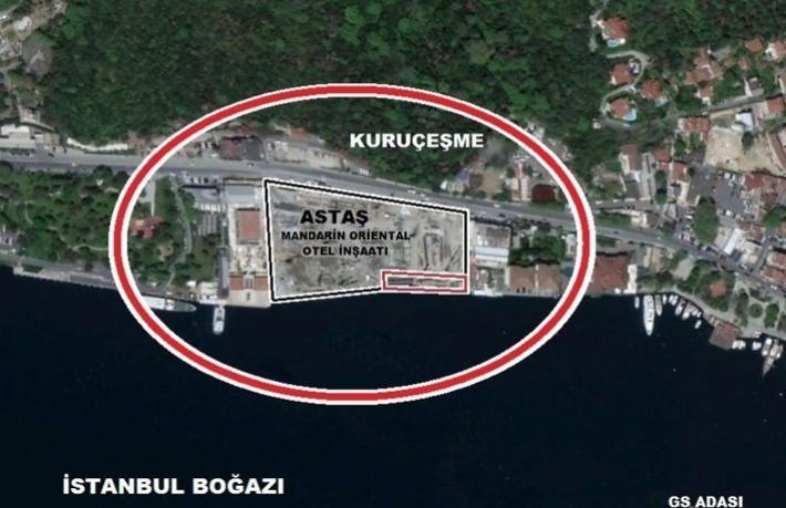 İBB Boğaz'daki arsasını o otele sattı