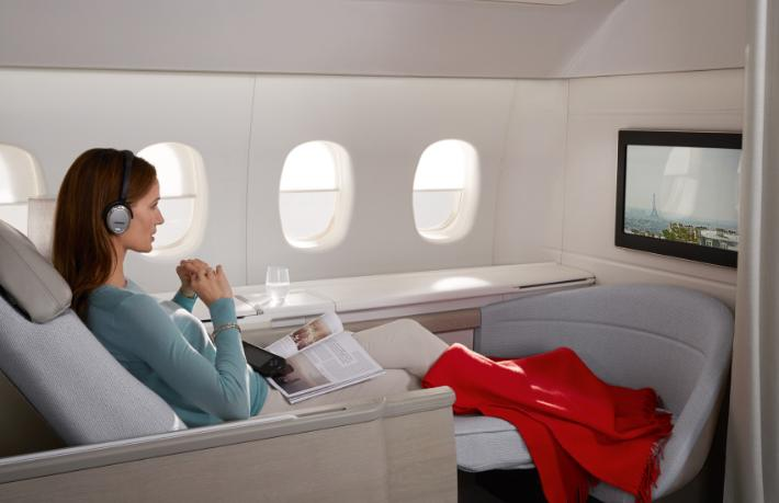 Skytrax'e Air France damga vurdu