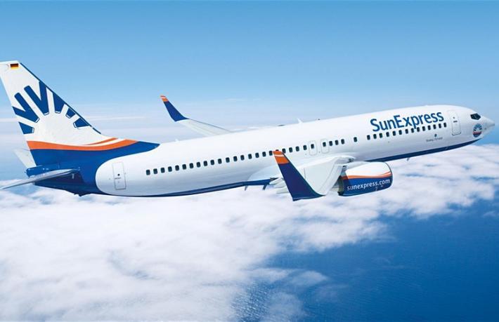 SunExpress İzmir'e Rus turist taşıyacak