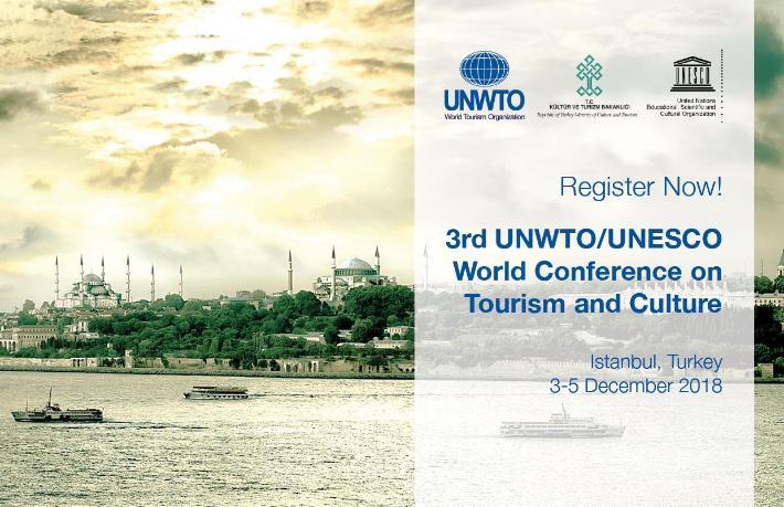 Dünya Turizm ve Kültür Konferansı İstanbul'da düzenlenecek