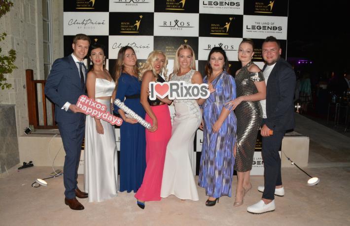 Rixos Hotels en çok satış yapan seyahat acentelerini ödüllendirdi
