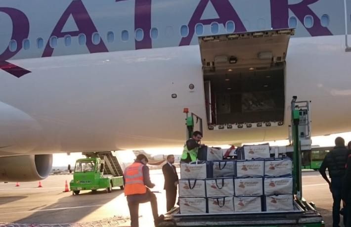 Mevlana Bazaar'dan Katar Kralı'na 2 ton Lokum