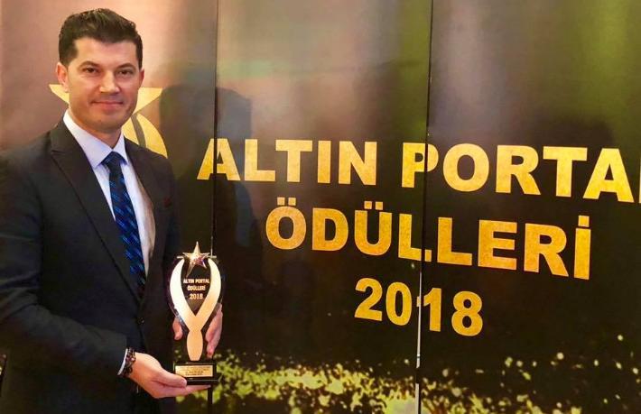 Hüseyin Aslan'a En Başarılı Otel Yöneticisi Ödülü
