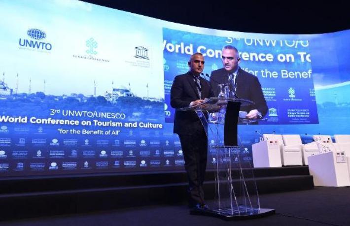 Dünya turizm ve kültür endüstrisinin kalbi İstanbul'da atıyor
