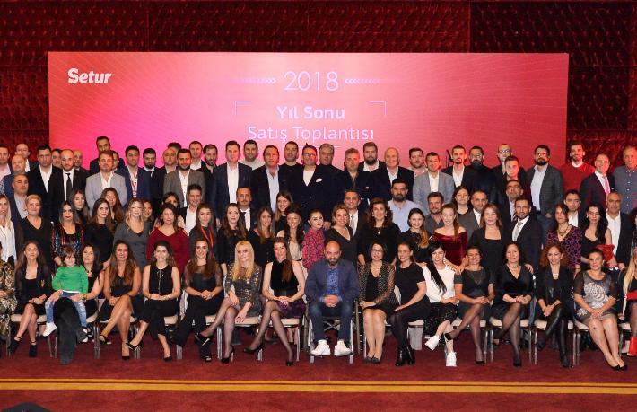 Setur'un Yıl Sonu Satış Toplantısı İzmir'de yapıldı