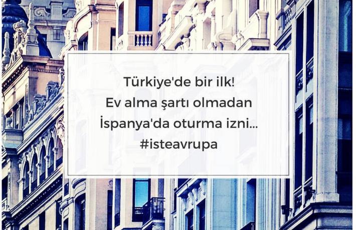 Türkiye'de bir ilk: Ev almadan AB'de oturma izni