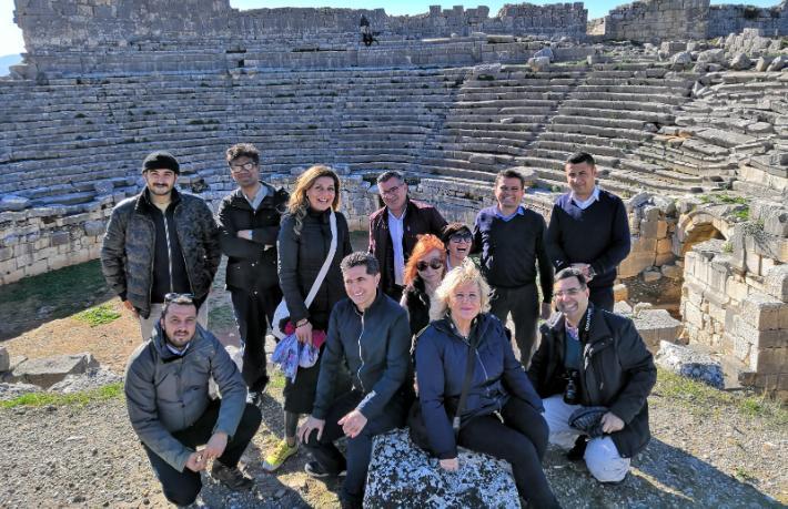 İngiliz gazeteciler Muğla'yı tanıttı