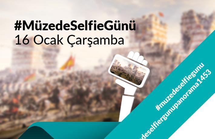 Müzede selfie çeken hediye kazanacak