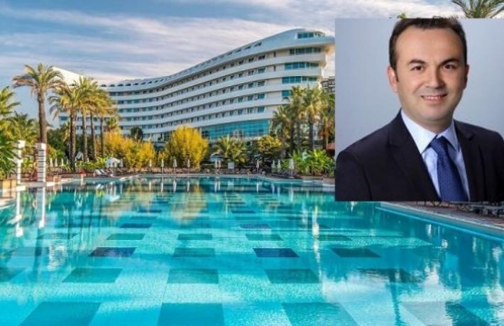 Concorde De Luxe Resort'e yeni genel müdürü