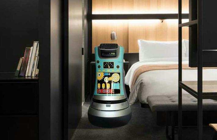 Oteldeki robot işçiler tam bir fiyasko
