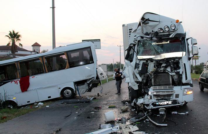 Türkiye'deki kazalar Ruslar'ın gözünü korkuttu