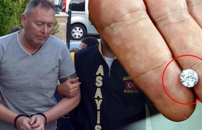 Pırlanta çalan İrlandalı turiste 8 yıl 9 ay hapis cezası