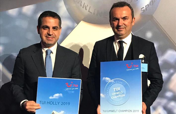TUI'den Concorde De Luxe Resort Hotel'e4 ödül