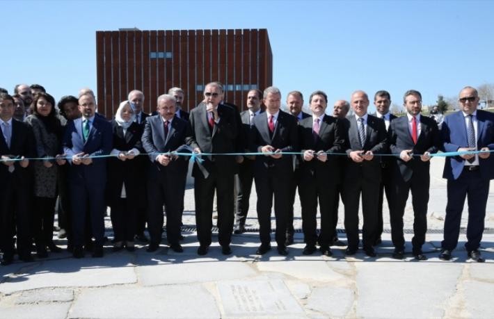 Troya Müzesi'nin resmi açılışıyapıldı