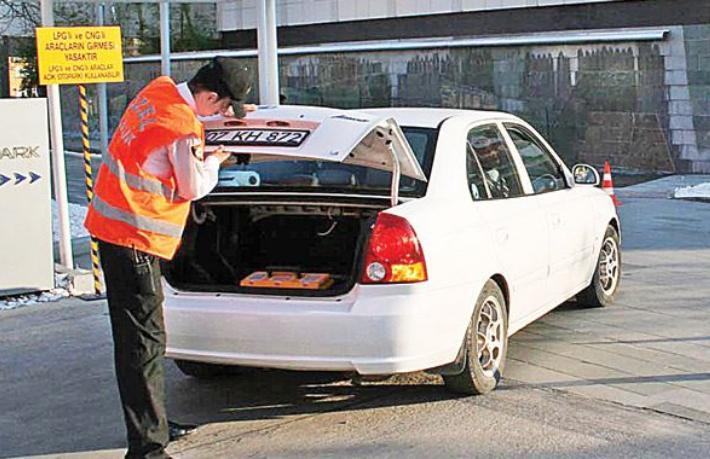 LPG'li araçlara otel yolu açıldı