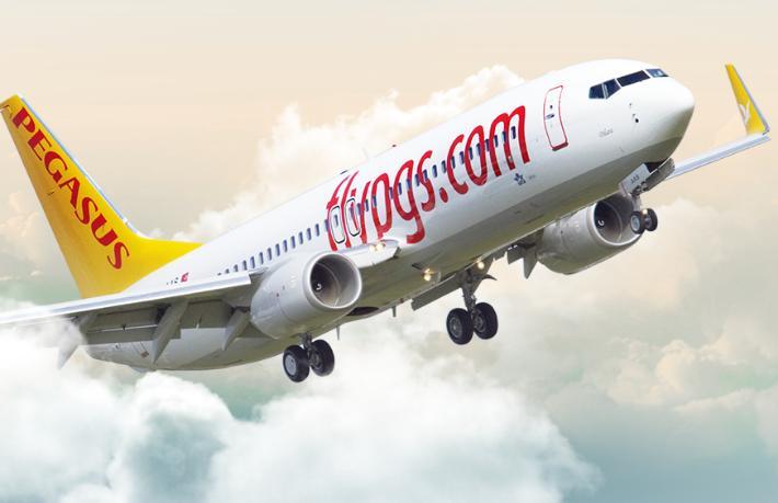 Pegasus'tan Moskova'ya 4 yeni turistik hat