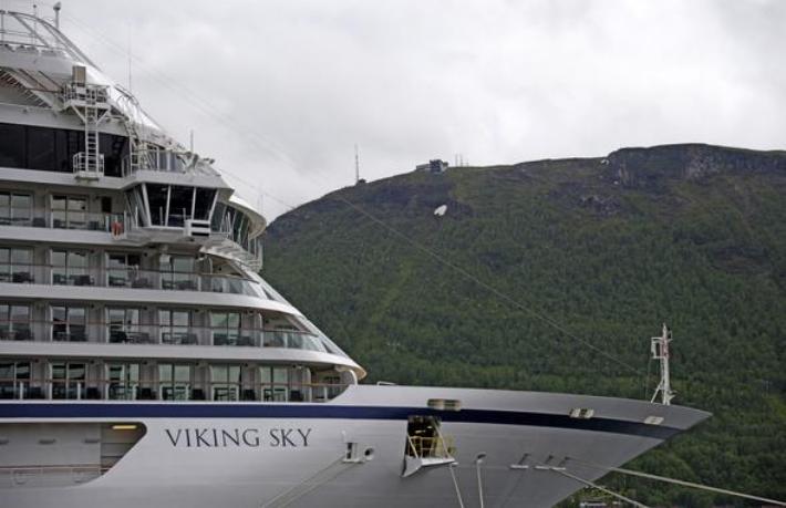 Norveç'teki dehşet gemisi limana yanaştı