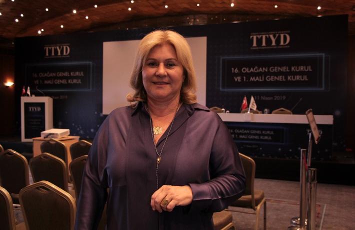 Oya Narin 2'nci kez TTYD Başkanı