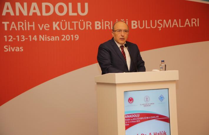 Anadolu Tarih ve Kültür Birliği Buluşması Sivas'ta