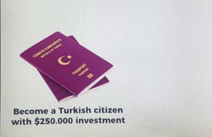 Havalimanındaki vatandaşlık pazarlaması tepki topladı
