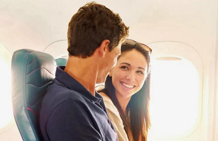 Her 100 yolcudan 2'si uçakta aşkı buluyor