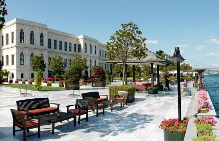 Four Seasons Hotel Bosphorus'tan 'Kuver' açıklaması