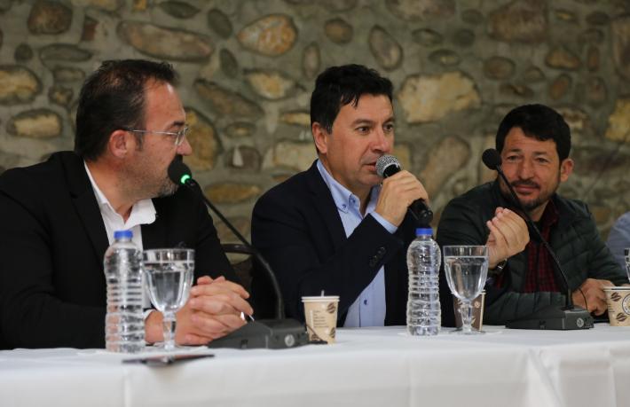 Bodrum Belediye Başkanı Aras sahaya indi