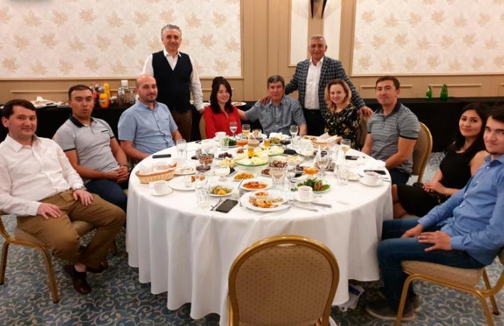 Kartaca Turizm'den Özbekistan'lı acentelere tanıtım toplantısı