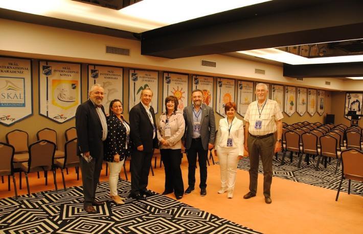 Uluslararası Skal Dernekleri Federasyonu toplantısı Eskişehir'de yapıldı
